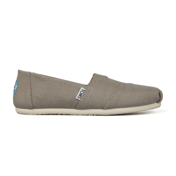 Toms Womens Grey Heritage Canvas main image