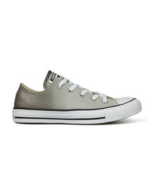 Converse Womens Grey All Star Ombre Metallic Ox