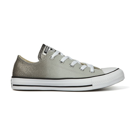 Converse Womens Grey All Star Ombre Metallic Ox main image
