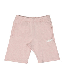 Carhartt Mens Pink College Sweat Short