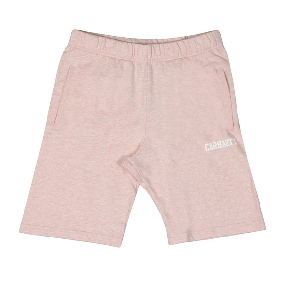 Carhartt Mens Pink College Sweat Short main image