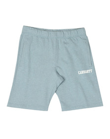 Carhartt Mens Blue College Sweat Short