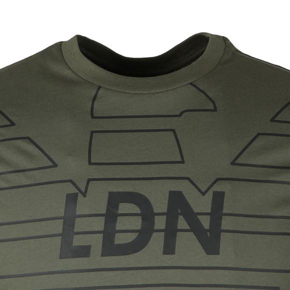 Emporio Armani Mens Beige 3Z1T76 Logo T Shirt main image