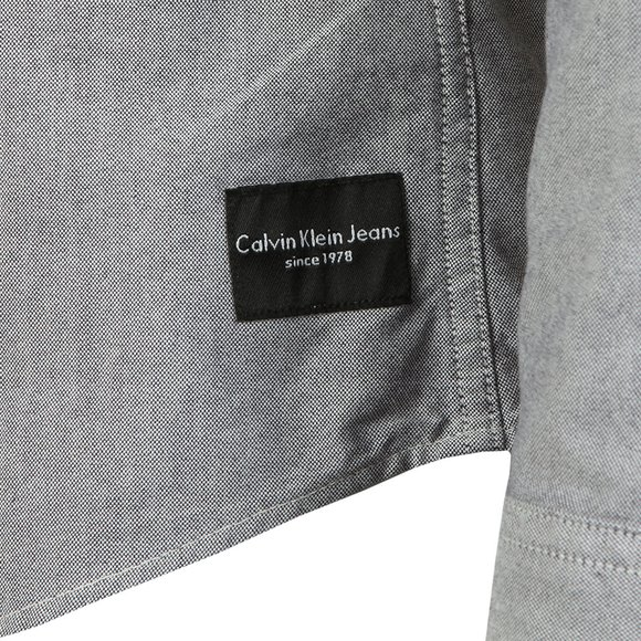 Calvin Klein Jeans Mens Blue L/S Wibens Shirt main image