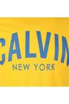 Calvin Klein Jeans Mens Yellow Tibokoy Slim Tee