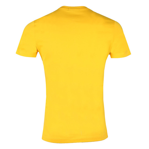 Calvin Klein Jeans Mens Yellow Tibokoy Slim Tee main image