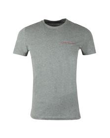 Calvin Klein Jeans Mens Grey S/S Typoko Tee