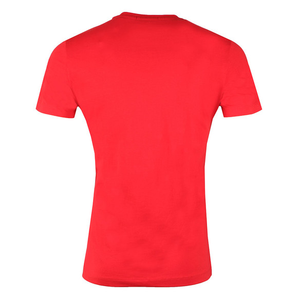 Calvin Klein Jeans Mens Red S/S Typoko Tee main image