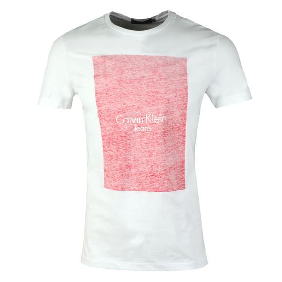 Calvin Klein Jeans Mens White S/S Teasia Tee main image