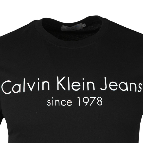 Calvin Klein Jeans Mens Black S/S Treavik Tee main image