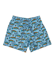 Vilebrequin Mens Blue Sardine Swim Shorts