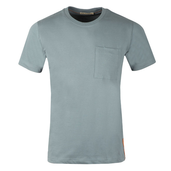 Nudie Jeans Mens Blue Kurt Worker Tee main image