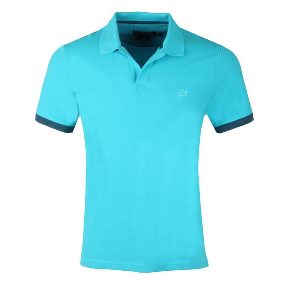 Vilebrequin Mens Blue Palatin Pique Polo Shirt