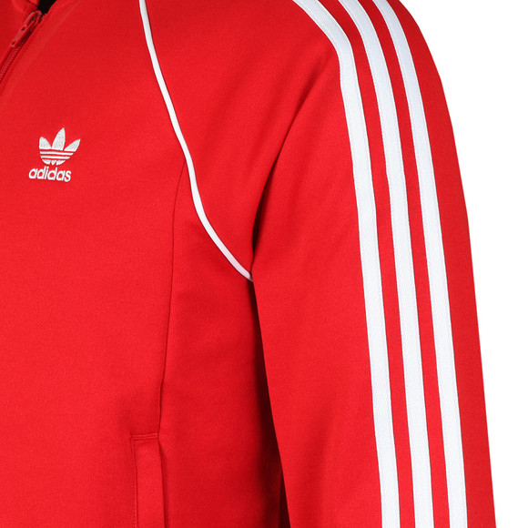 adidas Originals Mens Red SST Track Top main image