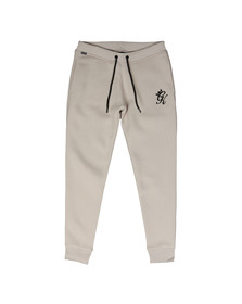 Gym king Mens Beige Fleece Track Bottom