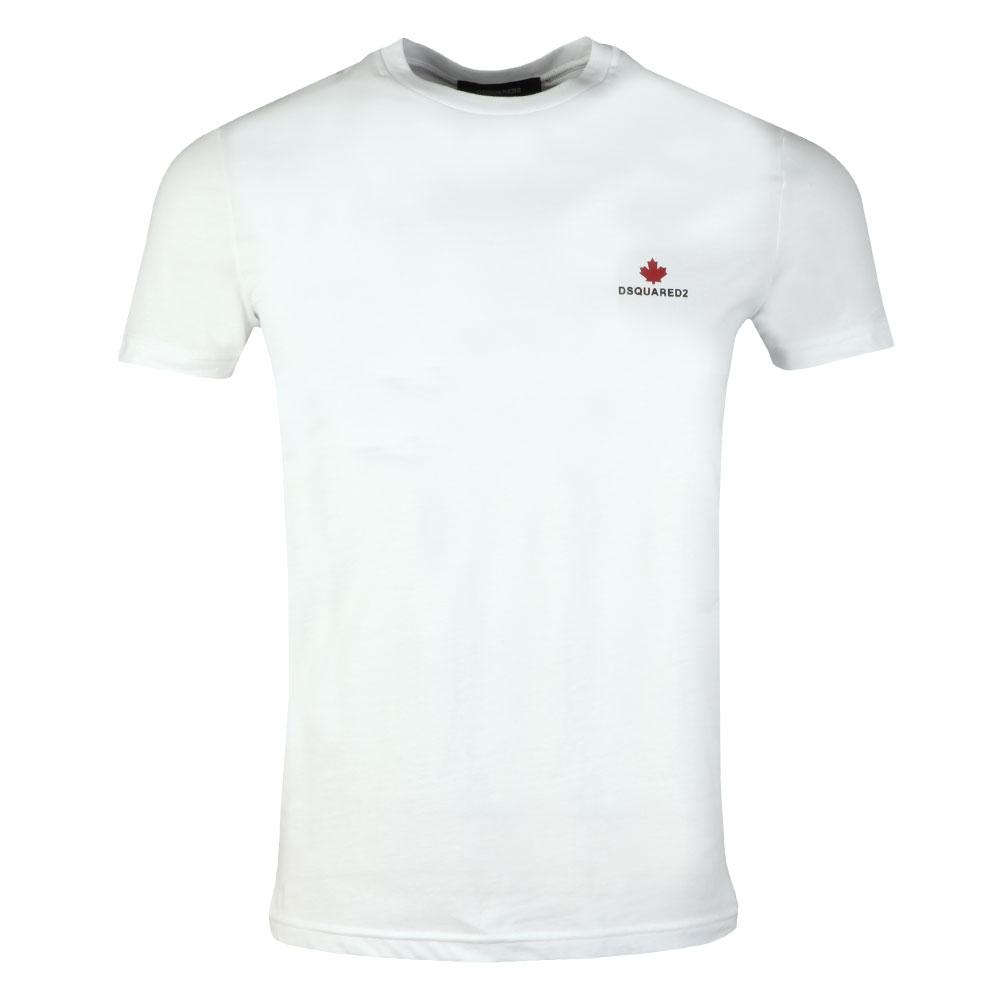 91a4a824a2a Dsquared2 Leaf Logo T Shirt
