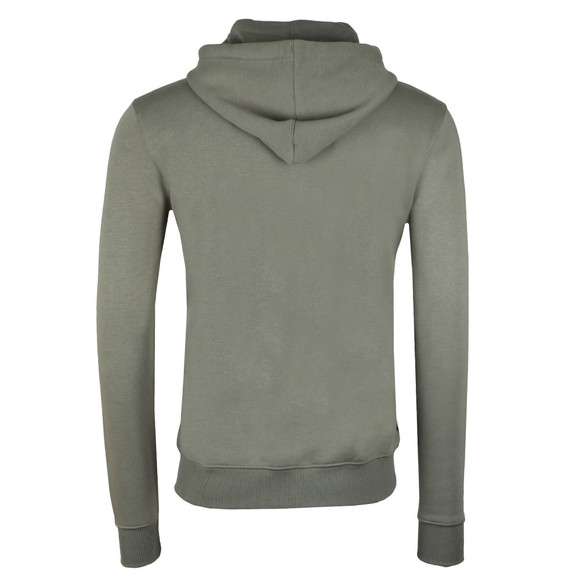 Gym King Mens Grey Full Zip Hooded Sweat main image