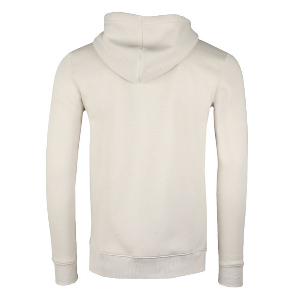 Gym King Mens Beige Full Zip Hooded Sweat main image