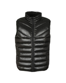 Gym king Mens Black Reign Gilet