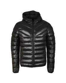 Gym king Mens Black Reign Hooded Jacket