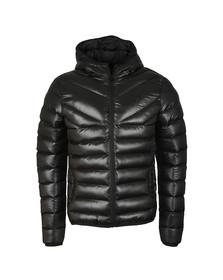 Gym King Mens Black Reign Hooded Jacket