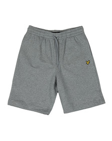 Lyle and Scott Mens Grey Sweat Short