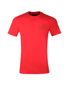 Lyle and Scott Mens Red S/S T-Shirt