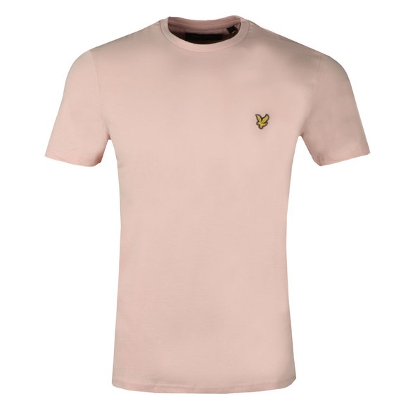 Lyle and Scott Mens Pink S/S T-Shirt main image