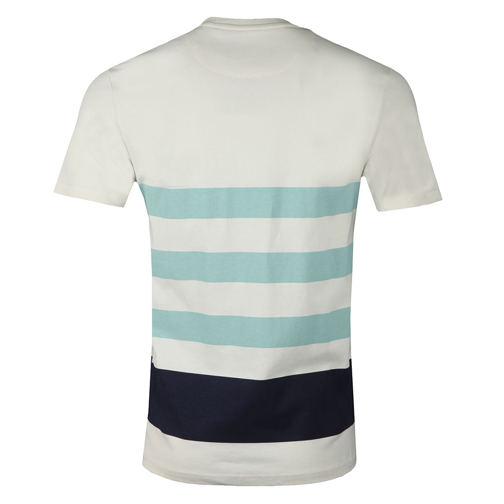 S/S Wide Stripe Tee main image