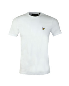 Lyle and Scott Mens White S/S T-Shirt