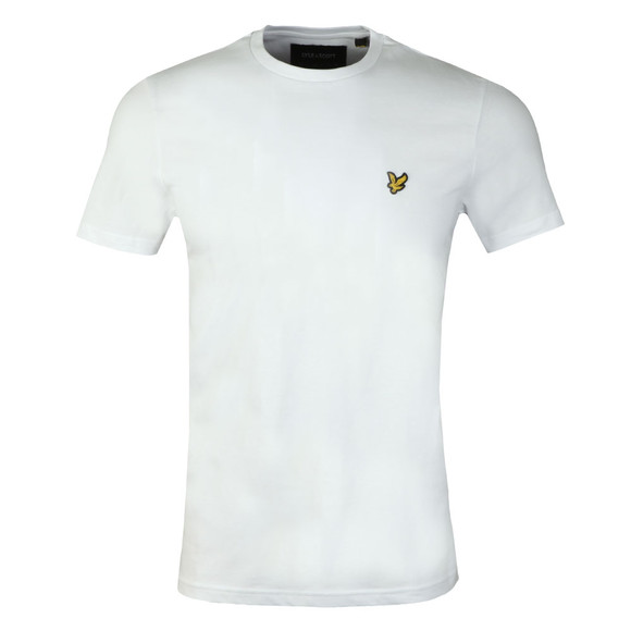 Lyle and Scott Mens White S/S T-Shirt main image