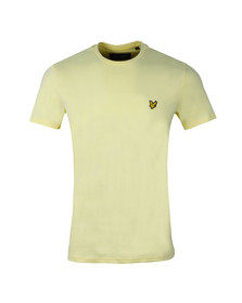 Lyle and Scott Mens Yellow Basic Tee