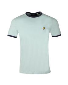 Lyle and Scott Mens Blue Ringer T-Shirt