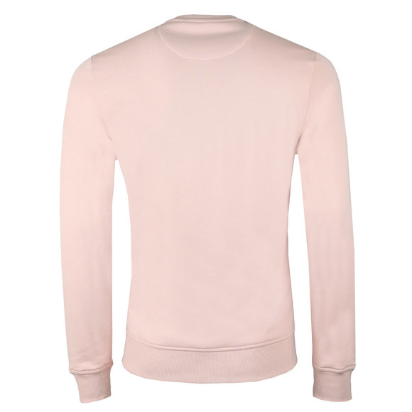 Lyle and Scott Mens Pink Crew Neck Sweatshirt main image