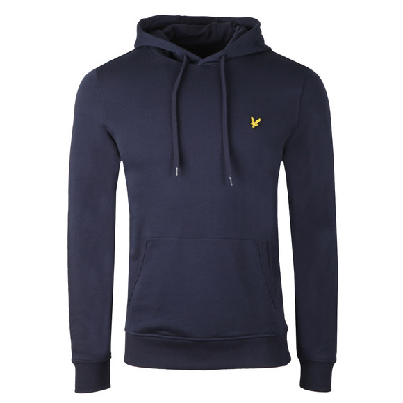 Lyle and Scott Mens Blue Pullover Hoody main image