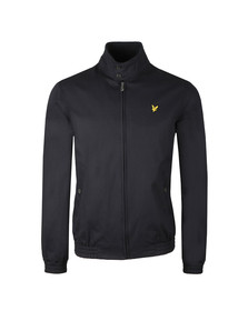 Lyle and Scott Mens Blue Harrington Jacket