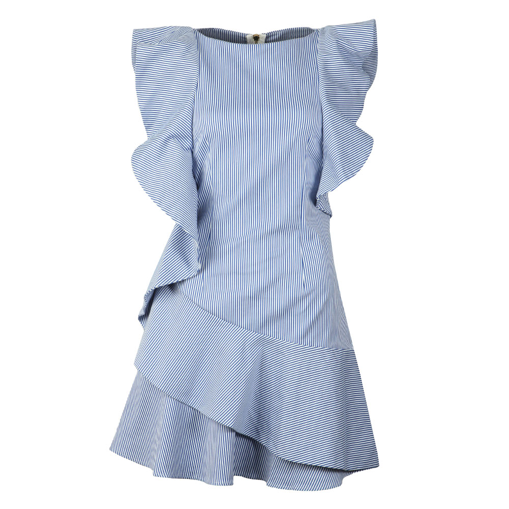 Nemera Stripe Frills Dress main image