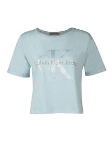 Calvin Klein Jeans Womens Blue Teco-22 Tee