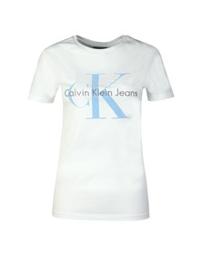 Calvin Klein Jeans Womens White Tanya-44 T Shirt