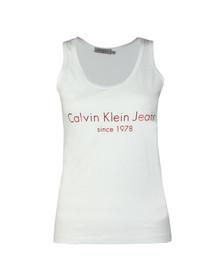 Calvin Klein Jeans Womens White Tex-1 Vest