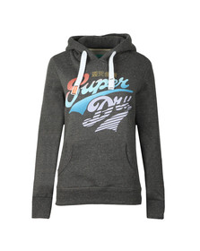 Superdry Womens Grey Paradise Stacker Entry Hoody