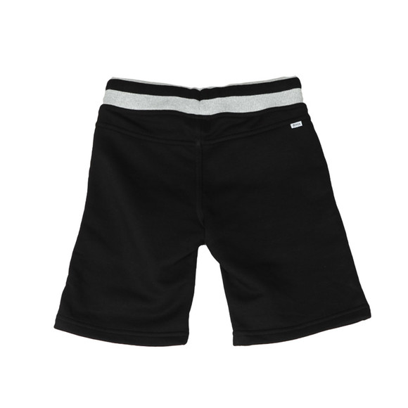 BOSS Loungewear Boys Black Boys J24552 Logo Jogger Short main image
