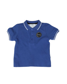 Boss Boys Blue Baby Circle Logo Polo Shirt