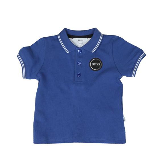 Boss Boys Blue Baby Circle Logo Polo Shirt main image