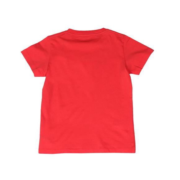 Hackett Boys Red Boys Chest Print T Shirt main image