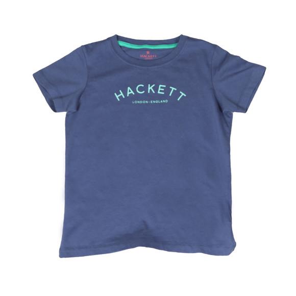 Hackett Boys Blue Boys Chest Print T Shirt main image
