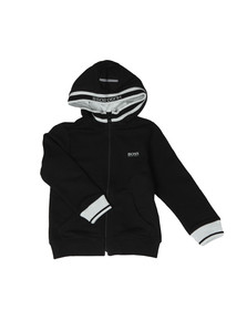 Boss Boys Black Boys J25C27 Full Zip Hoody