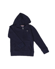 Gant Boys Blue Boys Original Zip Hoody