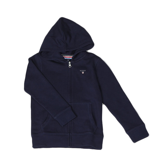 Gant Boys Blue Boys Original Zip Hoody main image