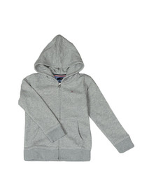 Gant Boys Grey Boys Original Zip Hoody